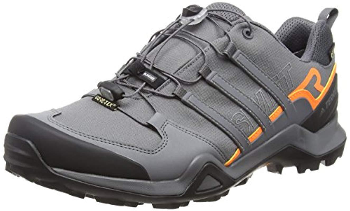 fd7b0ee03 adidas Terrex Swift R2 Gtx Cross Trainers in Gray for Men - Lyst
