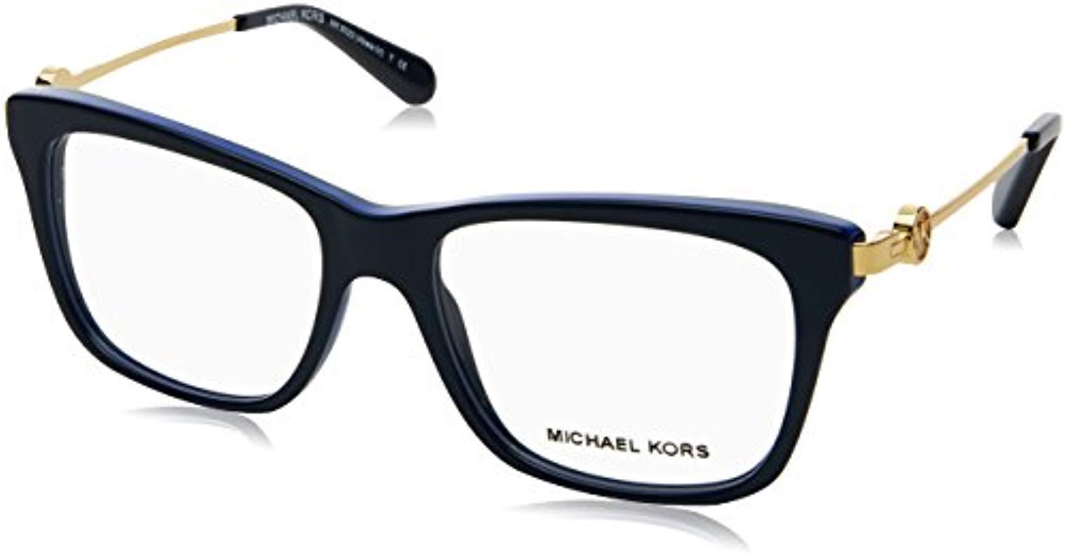 4f59d288db9c4 Michael Kors Abela Iv Glasses In Dark Tortoise Mk8022 3135 52 in ...