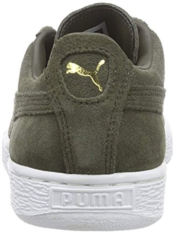 PUMA - Gray Unisex Adults  Suede Classic + Sneakers for Men - Lyst. View  fullscreen 8e5c7d4e5
