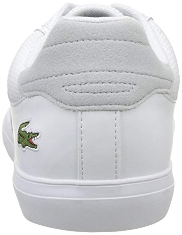 b506e3f784825e Lacoste Fairlead 117 1 Casual Shoe Fashion Sneaker in White for Men - Lyst