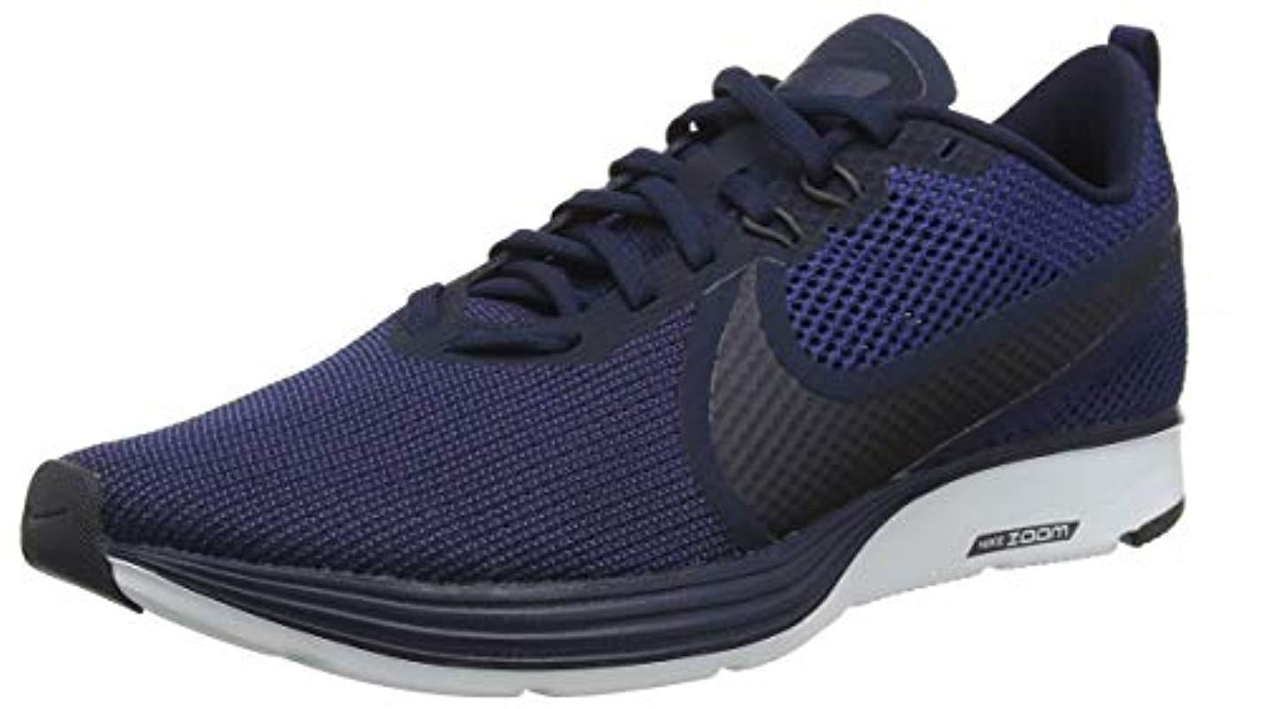 848fe6865ba Nike Zoom Strike 2 Competition Running Shoes in Blue for Men - Lyst