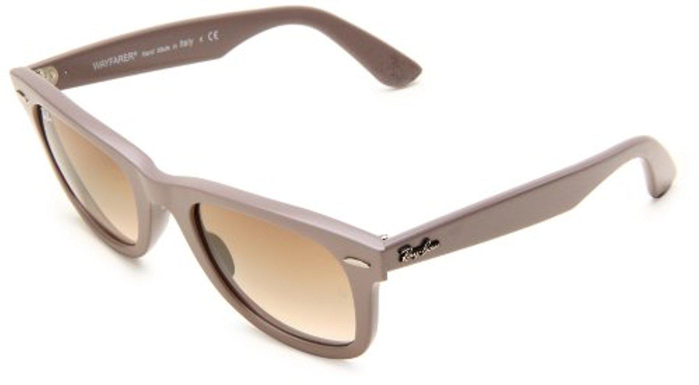 c7f9621b167 Lyst - Ray-Ban Wayfarer Rb2140 Square Sunglasses in Gray
