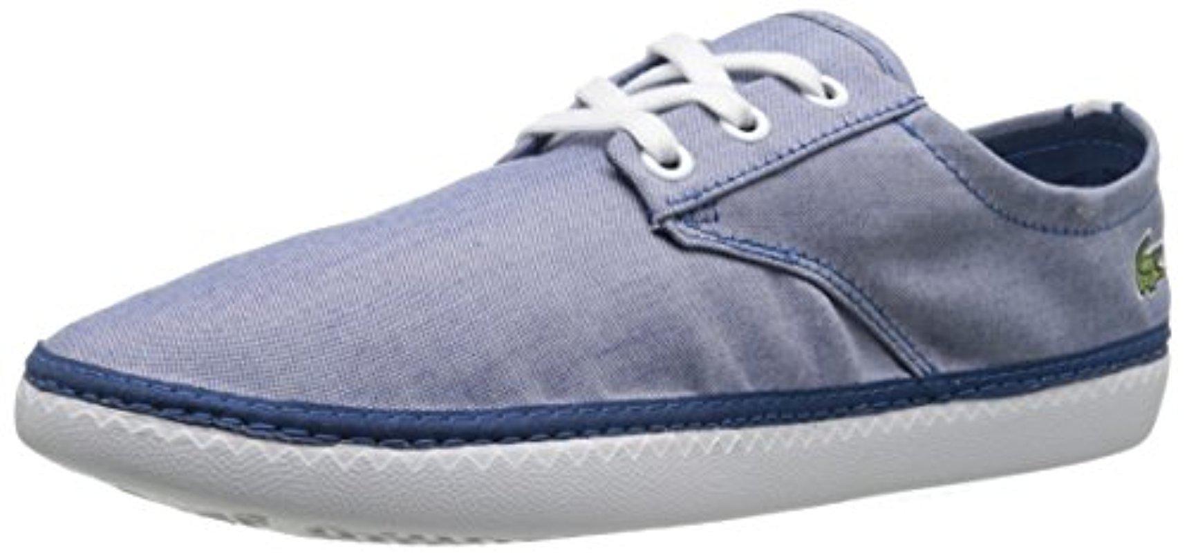 e2ca5a32fa7df Lyst - Lacoste Malahini Deck 216 1 Fashion Sneaker in Blue for Men