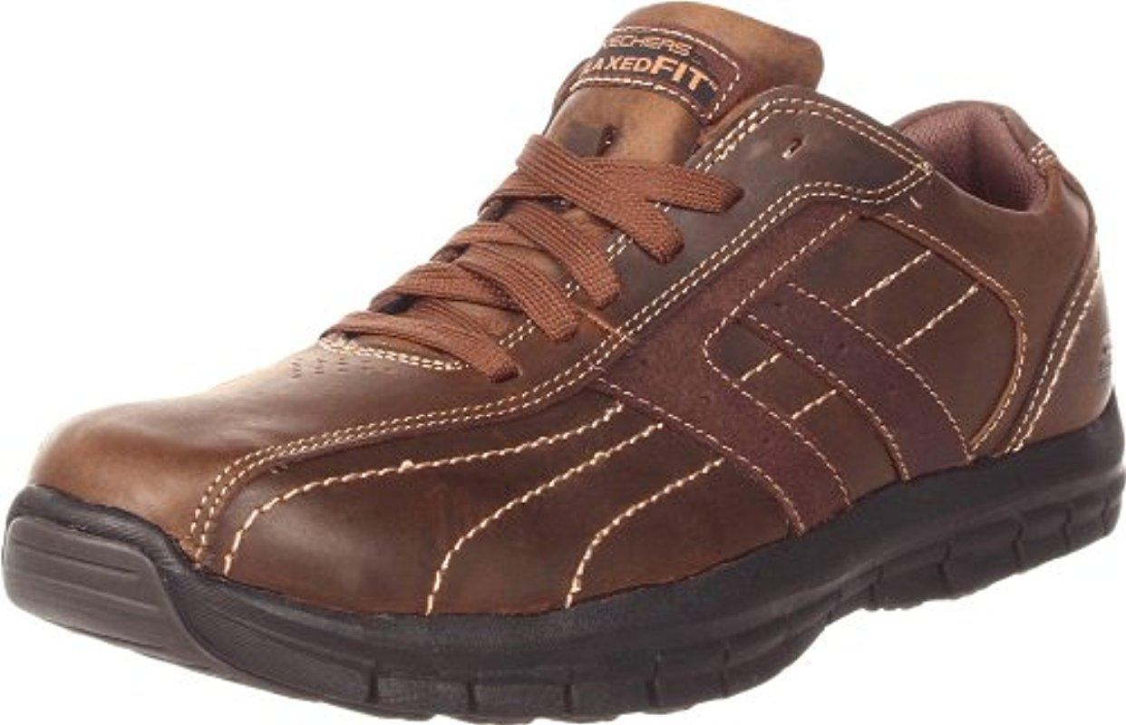 Skechers Usa Relaxed Fit Memory Foam Mazen Kruger Oxford W2v4fvooP