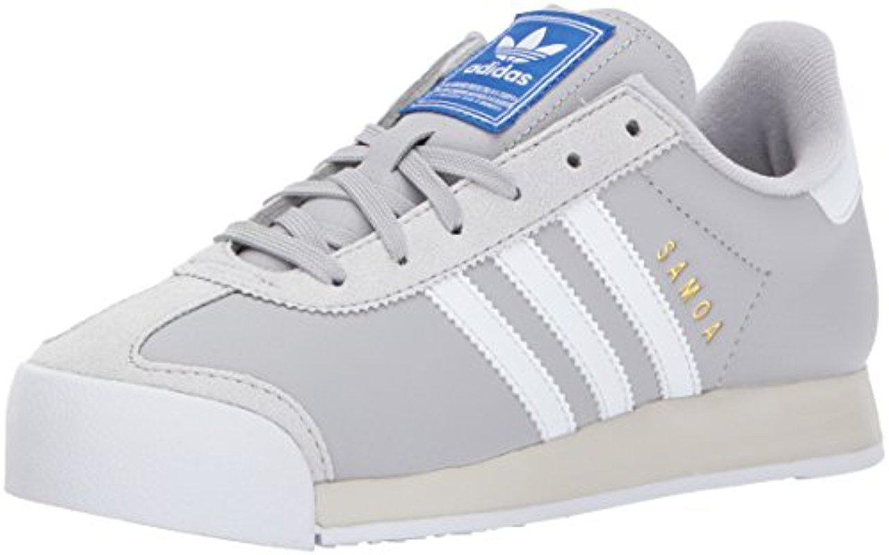wholesale dealer 41ce0 362c1 Lyst - adidas Originals Samoa Casual Shoes in Gray