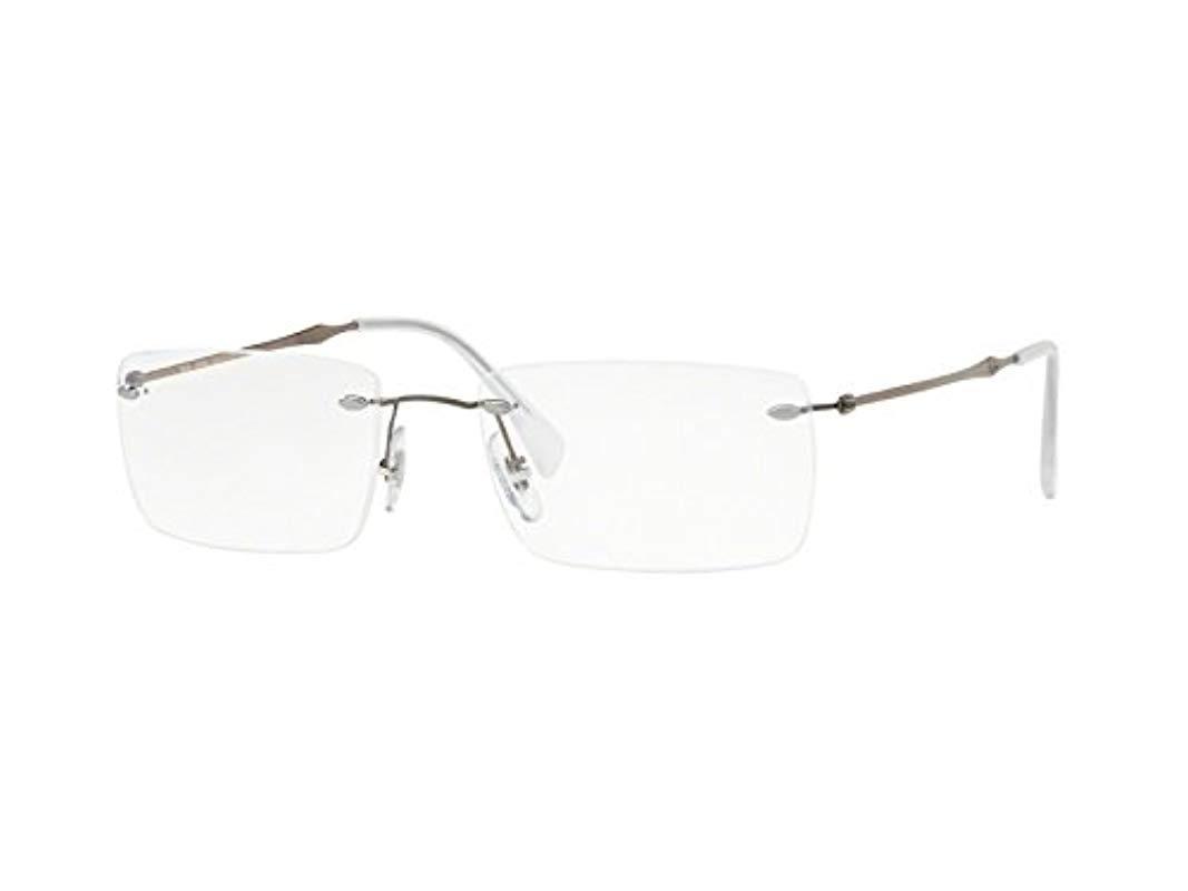 7937a3d2a4a Ray-Ban 0rx 8755 1000 54 Optical Frames