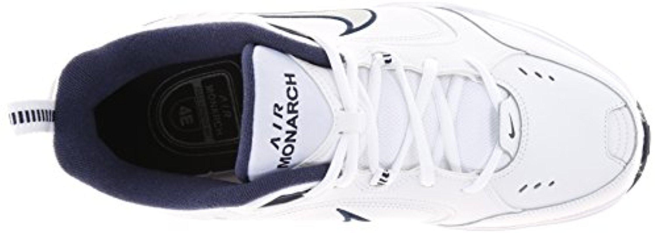 best website 863f9 50d70 Lyst - Nike Air Monarch Iv (4e) Running Shoes -15 White  Met