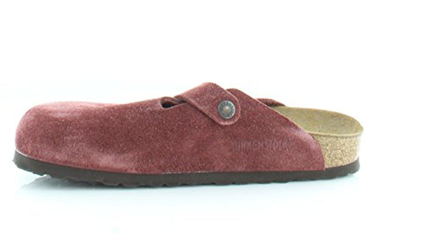 05a98b4d46f Birkenstock - Multicolor Unisex Boston Soft Footbed Leather Clog - Lyst