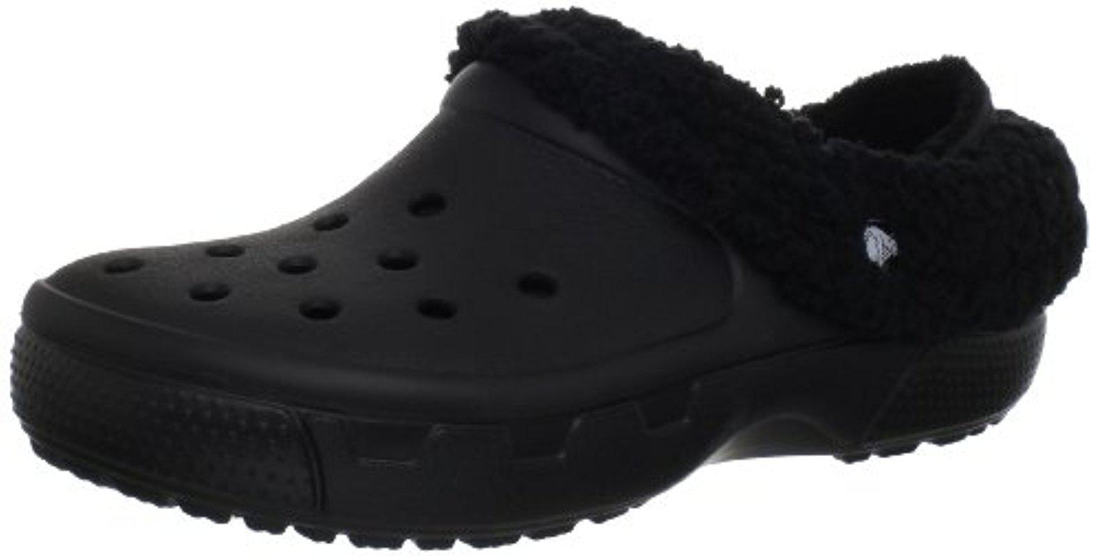 624aa23f559cdb Lyst - Crocs™ Unisex Mammoth Evo Lined Clog in Black