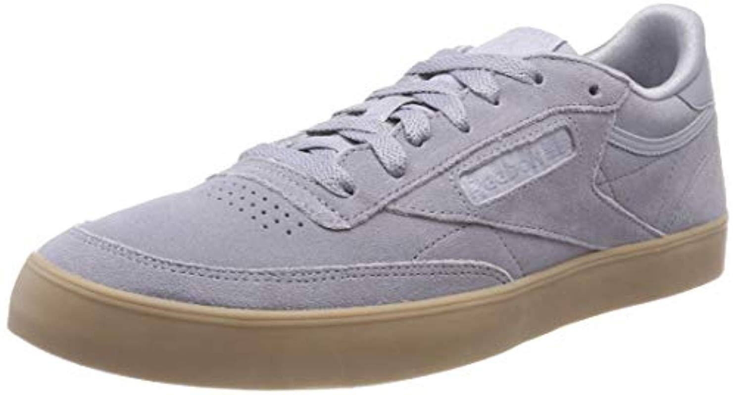 81b1ec16396 Reebok Club C 85 Fvs Low-top Sneakers in Gray - Save 24% - Lyst