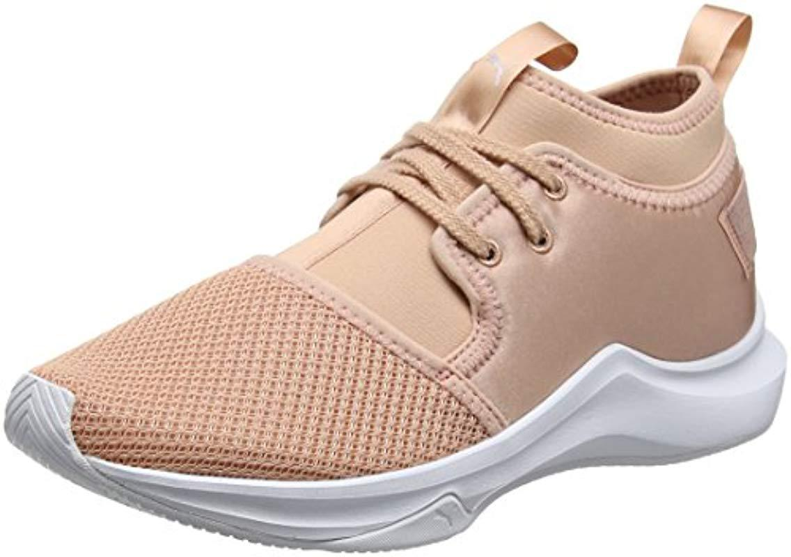 f68ccecd817 PUMA Phenom Low Satin Ep Wn s Cross Trainers in Natural - Lyst