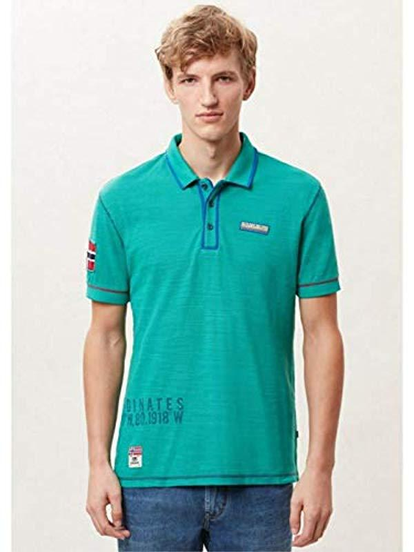 Napapijri Shirt Lyst For Alhambra Men Green Polo Elize In r8rqIZ