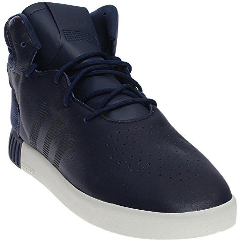 size 40 2cc2b 4d858 adidas Originals. Men s Blue Tubular Invader Strap Shoes