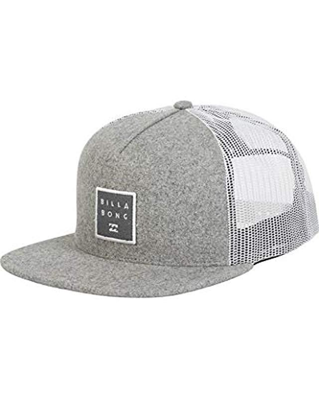 cbab1ff2683 Lyst - Billabong Stacked Trucker in Gray for Men