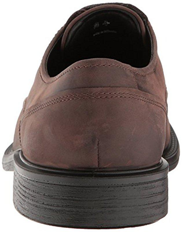 Lyst - Ecco Knoxville Plain Toe Gore-tex Oxford in Brown for Men - Save 11% beff1679b6e
