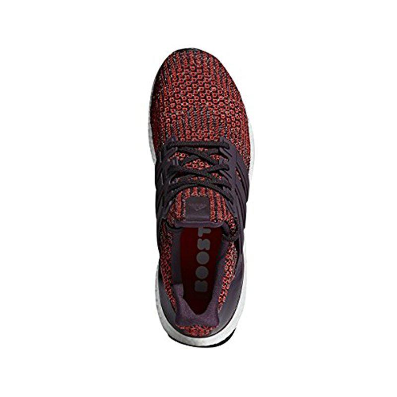 lyst adidas ultraboost straße laufschuh rot für männer
