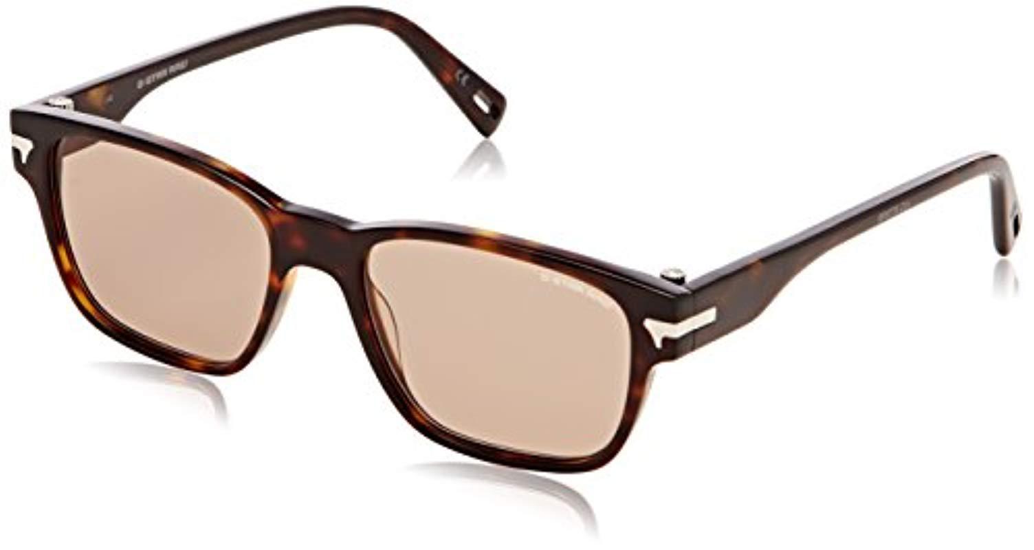 572fc8571b G-Star RAW G-star Gs627s Thin Vindal Rectangular Sunglasses - Lyst