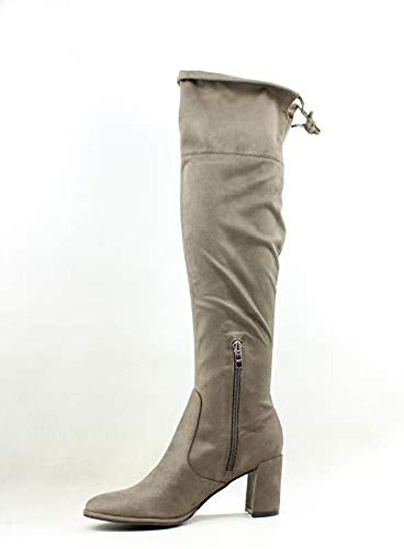 921448175b8 Marc Fisher - Brown Lencon Over The Over The Knee Boot - Lyst. View  fullscreen