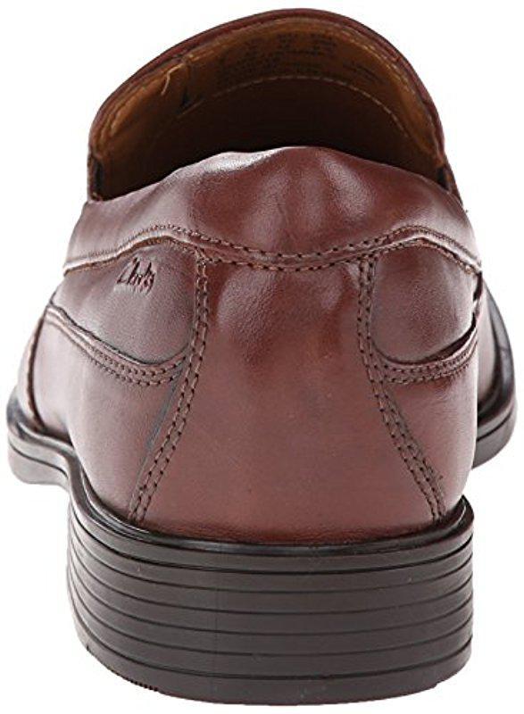 f16709efe4 Clarks - Brown Tilden Free Slip-on Loafer for Men - Lyst. View fullscreen