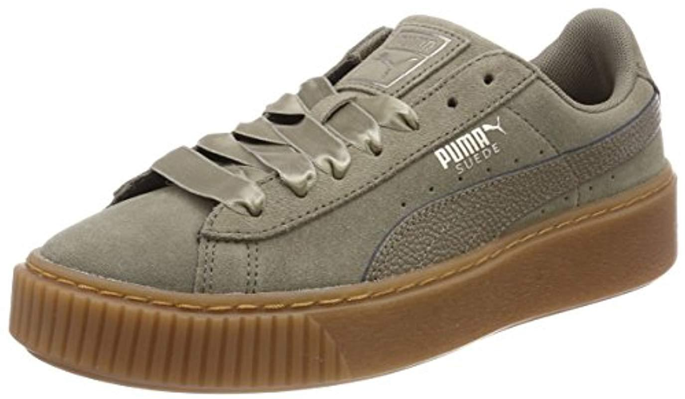 3a907fc6330f44 PUMA  s Suede Platform Bubble Wn s Trainers - Save 12% - Lyst