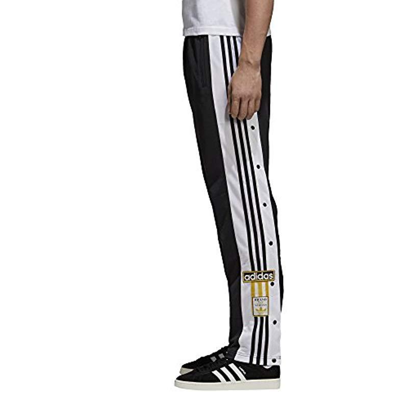 Adidas originali adibreak formazione i pantaloni, in nero per gli uomini lyst