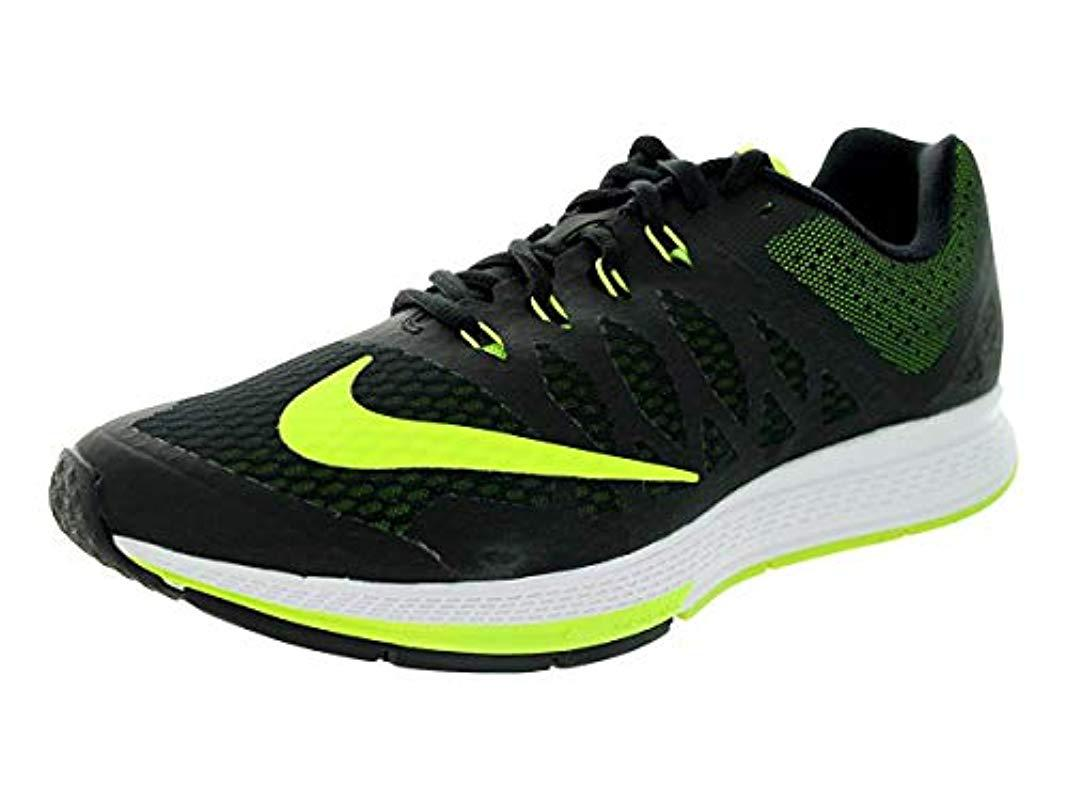 6007ce0d7e2a Nike Mens Air Zoom Elite 7 Running Shoes in Black for Men - Lyst