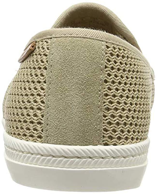 05abb82d43c GANT Frank Slip On Trainers in Natural for Men - Save 8% - Lyst