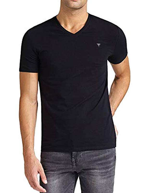 5057ececd6 Guess Cn Ss Core Tee Kniited Tank Top Bianco in Black for Men - Lyst