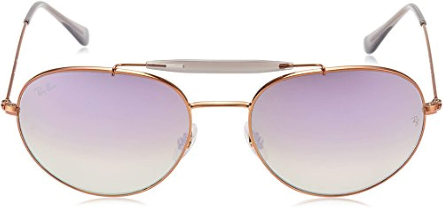 fd03945b1e Ray-Ban - Metallic Unisex s Rb 3540 Sunglasses