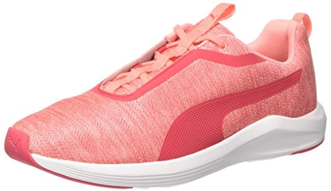 low priced 5767e b0d20 puma-Soft-Fluo-Peach-puma-White-s-Prowl-Shimmer-Wns-Cross-Trainers.jpeg