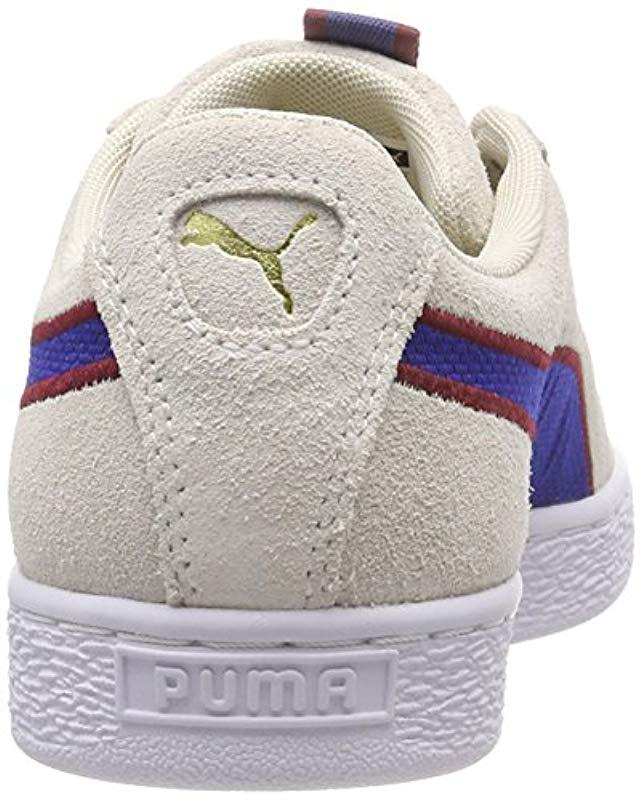 4fd72c5b1e8c Puma Unisex Adults  Suede Classic Sport Stripes Low-top Sneakers for Men -  Save 25.86206896551724% - Lyst