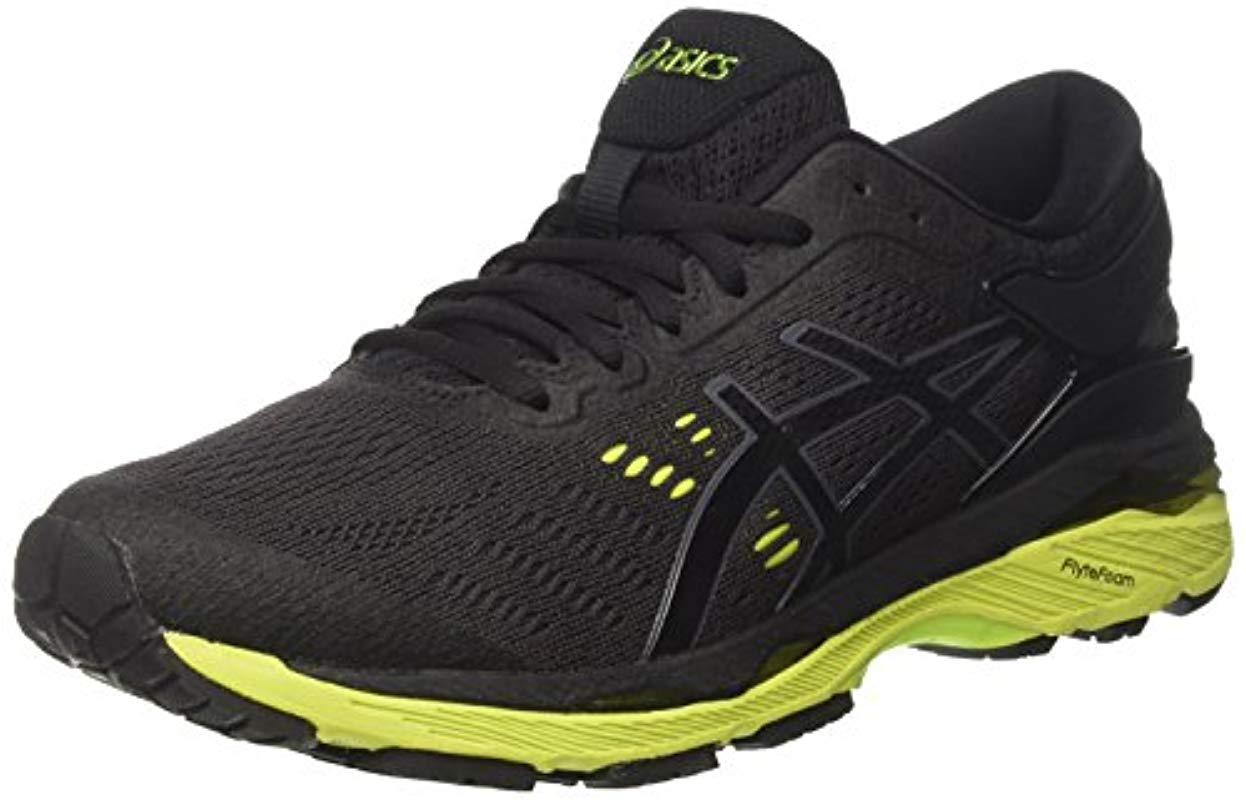 e1d71e70a44c ... Asics - Black Gel-kayano 24 Running Shoes for Men - Lyst. Visit Amazon.  Tap to visit site
