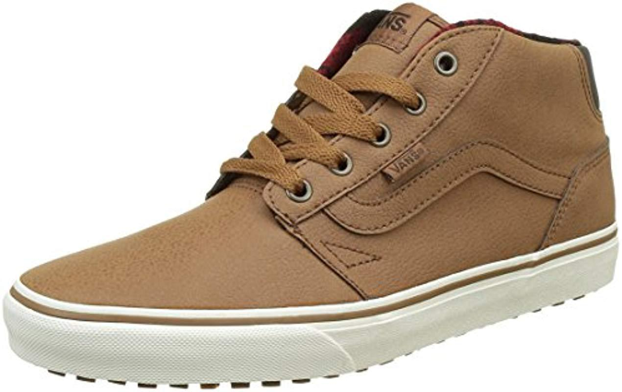 2831c4a5407d5d Vans Chapman Mid Mte Low-top Sneakers in Brown for Men - Lyst