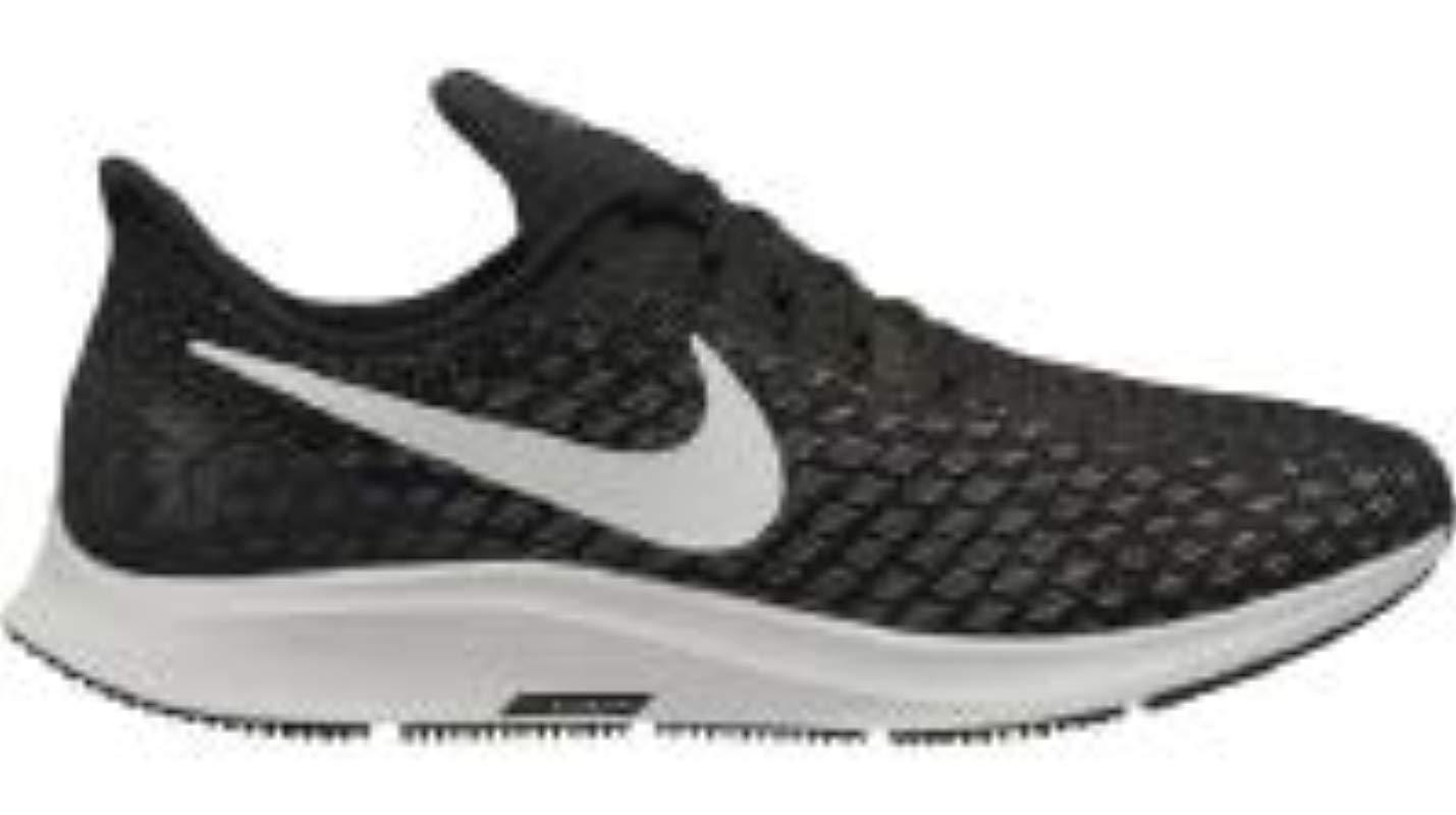 080bf30a50e Nike Air Zoom Pegasus 35 Running Shoes in Black for Men - Lyst