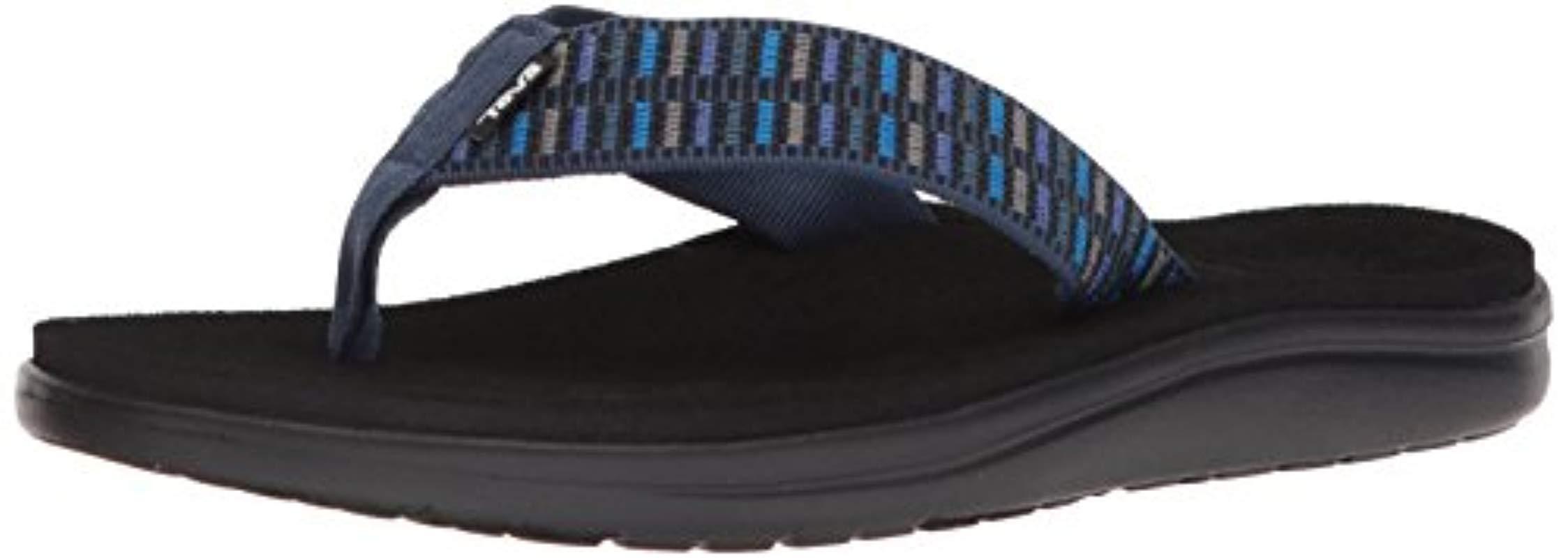 3238b3e223f9 Teva M Voya Flip Flops in Blue for Men - Lyst
