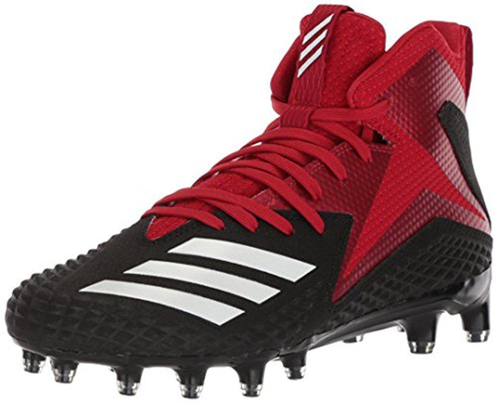 reputable site 15d31 abac8 Lyst - Adidas Freak X Carbon Mid Football Shoe, Black white power ...