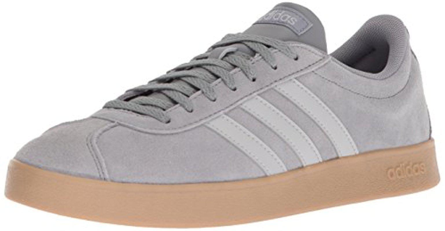 lyst adidas vl corte scarpe da ginnastica in grigio per gli uomini.