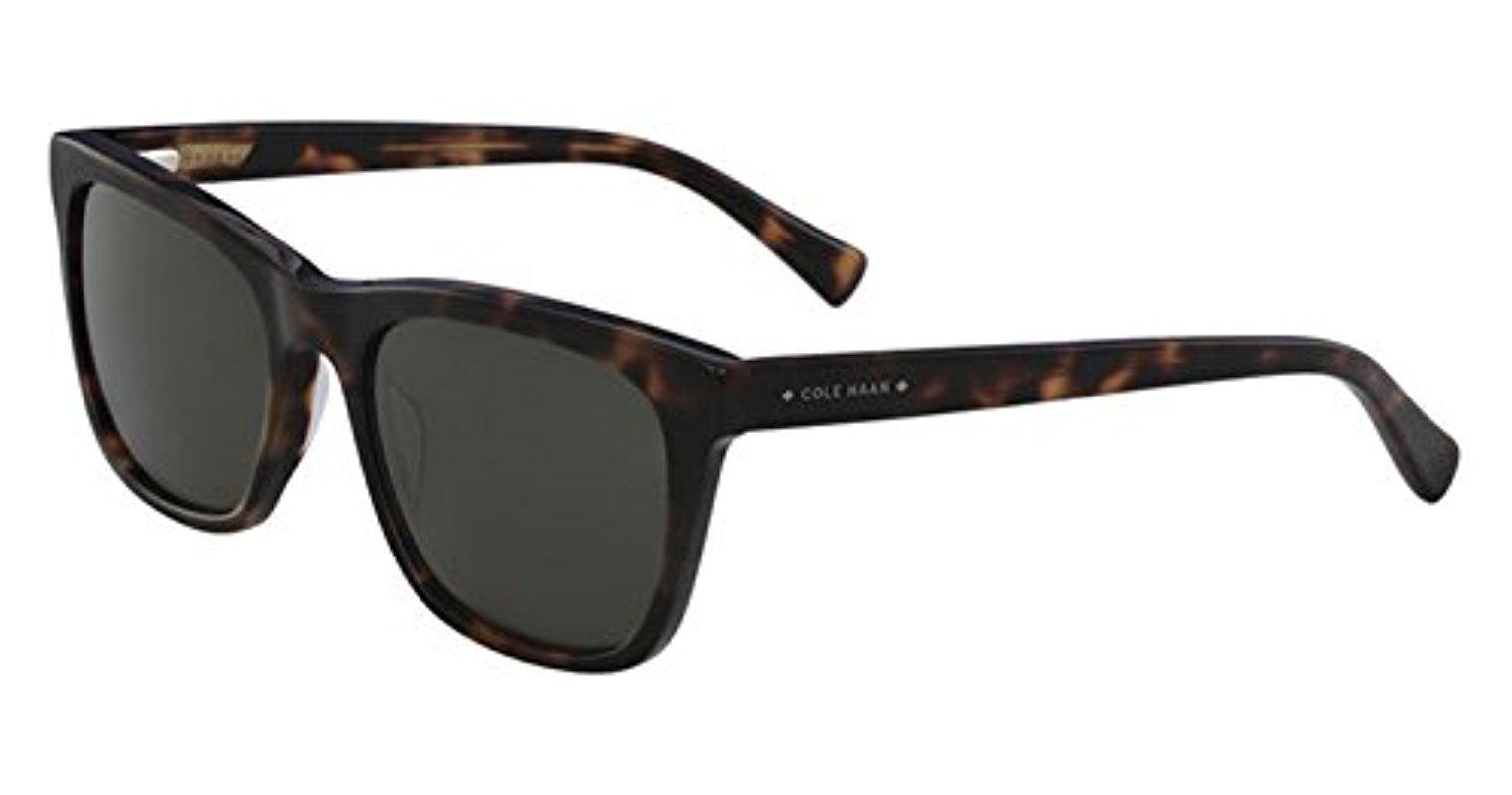 5f3dfec456f Cole Haan. Men s Ch6009 Plastic Square Sunglasses ...