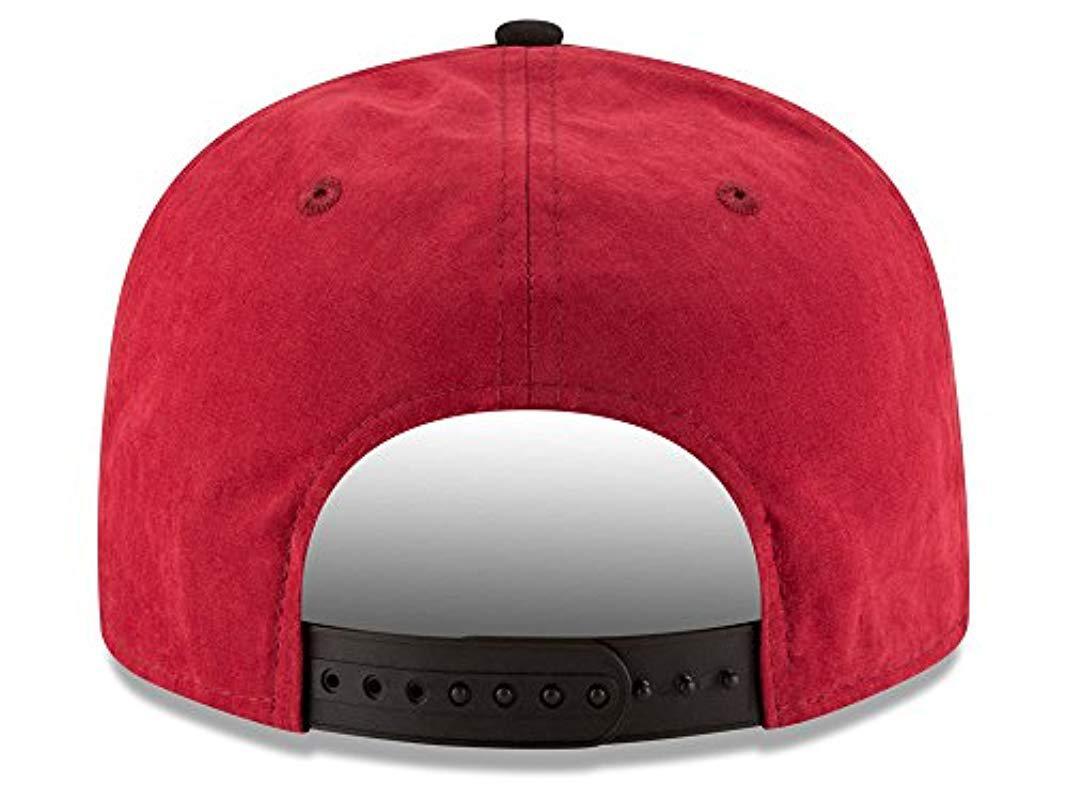 a71878c7e0d76 ... buy lyst ktz arizona cardinals nfl summer suede 9fifty snapback cap  557dc beabd
