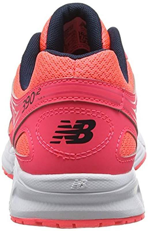 New Balance 's 390v2 Running Shoes in Pink Lyst