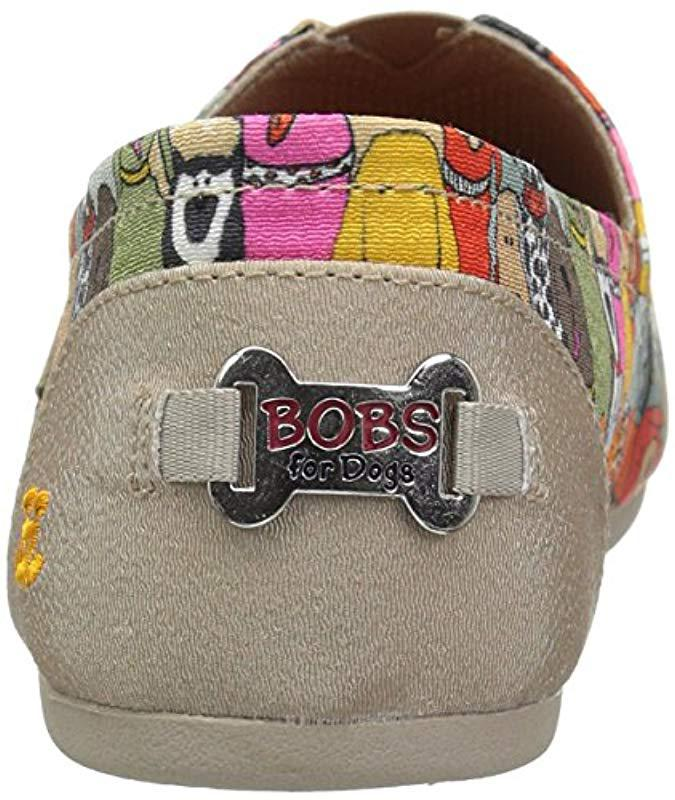 d88874da98c Lyst - Skechers Bobs Plush-wag Party Ballet Flat - Save 9%