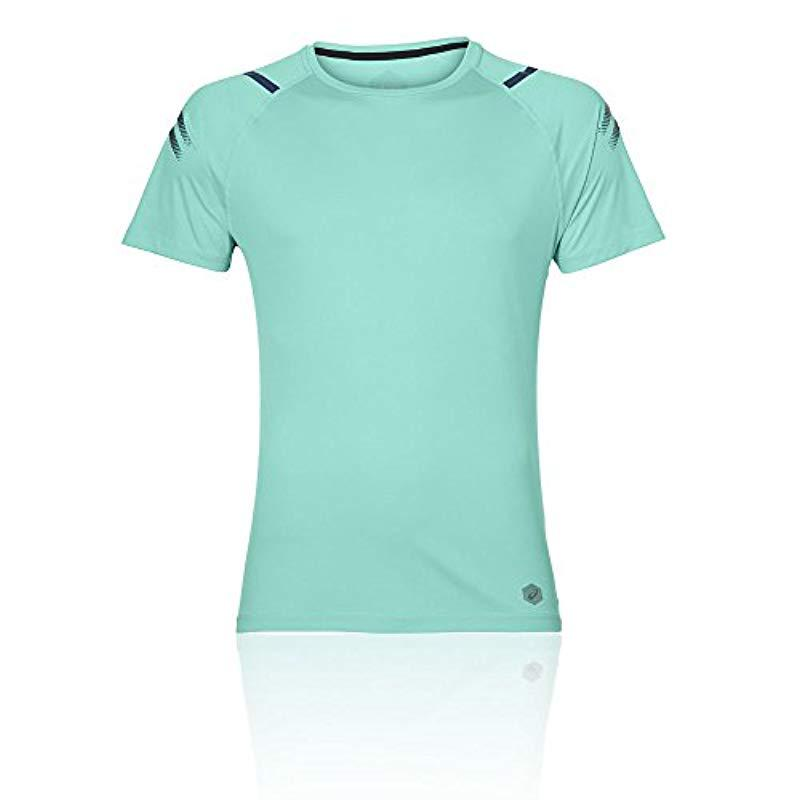 0e198b553fba Asics Icon Ss Top T-shirt in Green for Men - Lyst