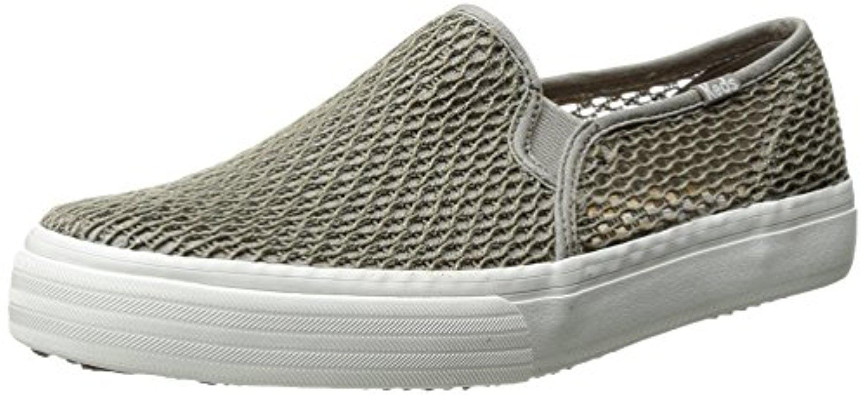 9dfeea37f Lyst - Keds Double Decker Crochet Fashion Sneaker