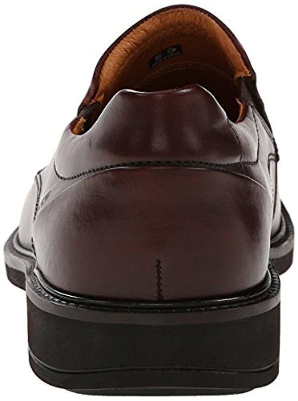 e33e43717fe Lyst - Ecco Holton Apron Toe Slip On in Brown for Men - Save 1%