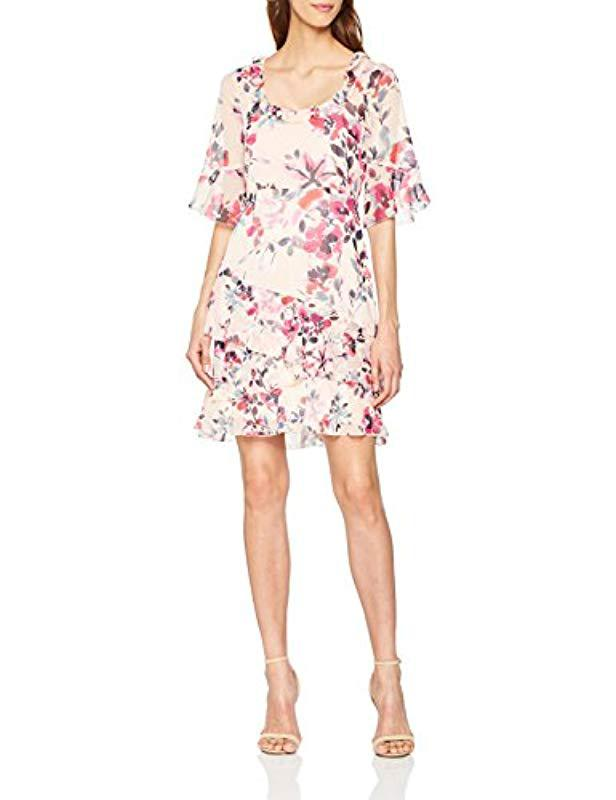 33832187d60 French Connection Linosa Dress in Pink - Lyst