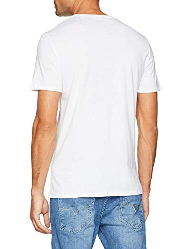 e7240a7c Guess Kniited Tank Top in White for Men - Lyst