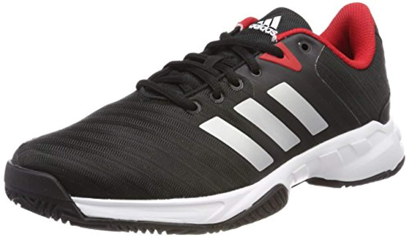 newest 61bea d91c5 adidas. Mens Black Barricade Court 3 ...