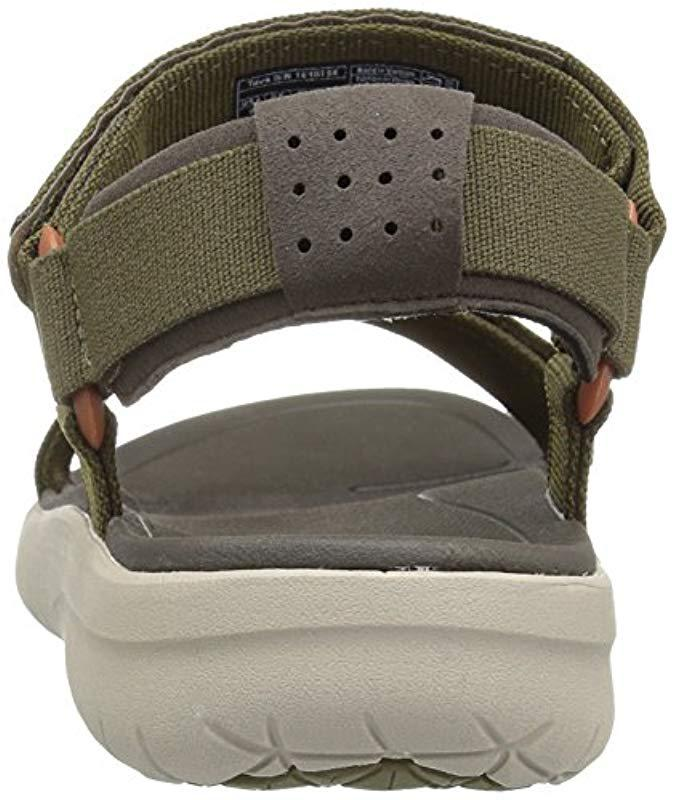 fad93f811e86 Teva Sanborn Universal Sports And Outdoor Lifestyle Sandal in Green for Men  - Lyst