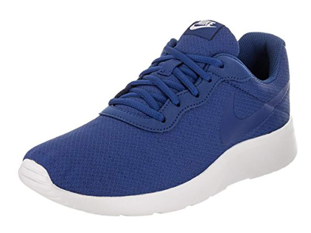 promo code 7b399 d755e ebay nike s tanjun prem trainers in blue for men lyst 9b512 ca951