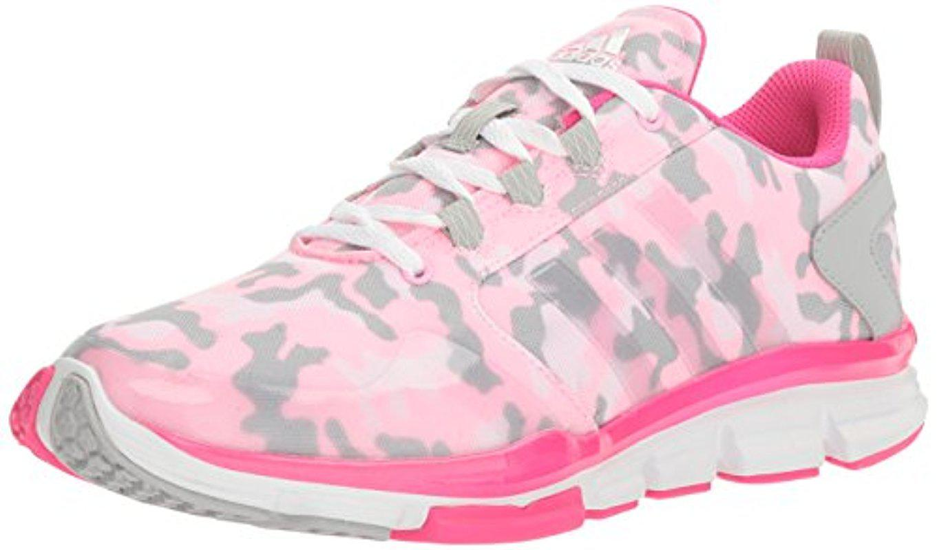 Lyst adidas Originals freak x carbon Mid Cross trainer en rosa